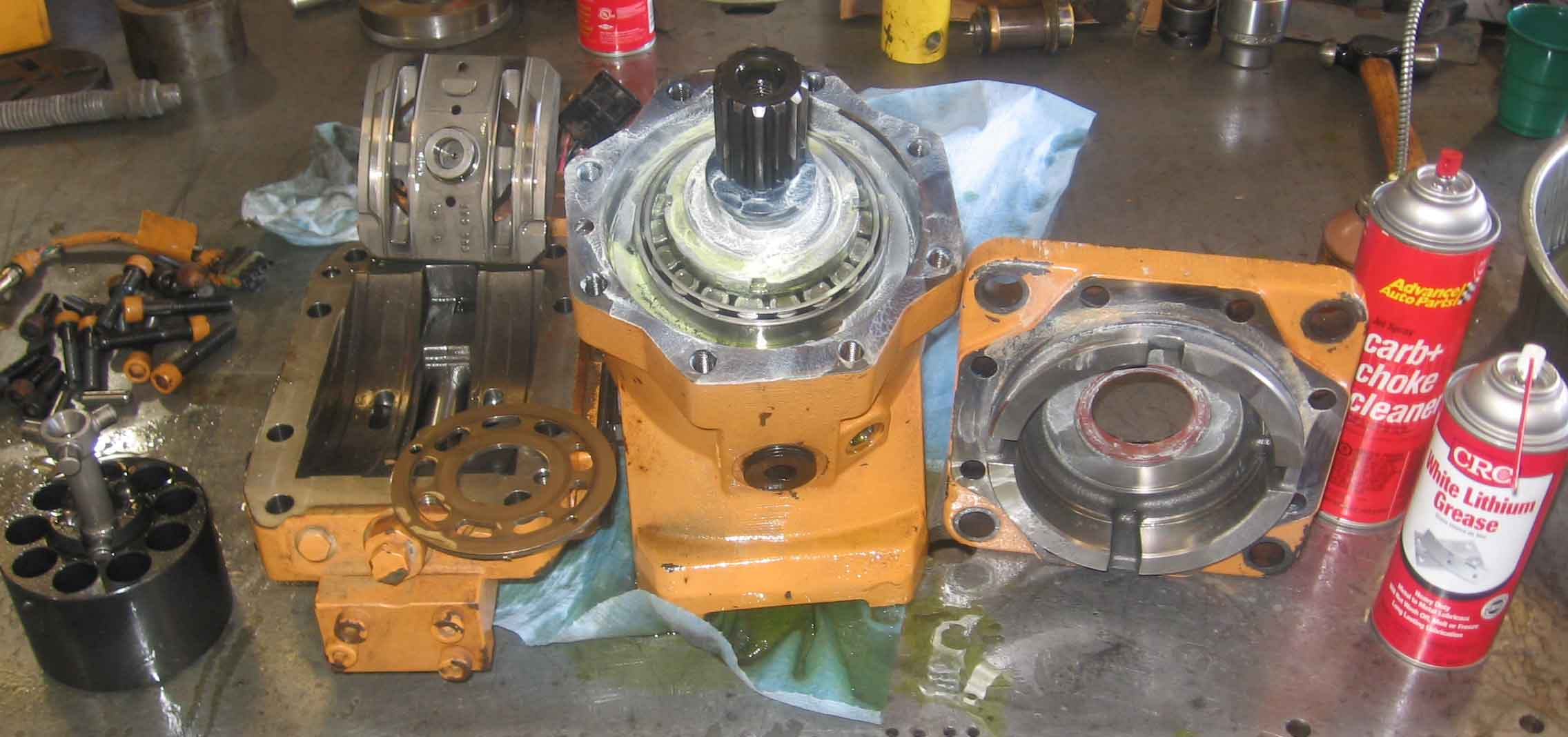 how to change a seal on danfoss motor